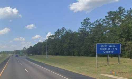 al i10 rest area westbound mile marker 65