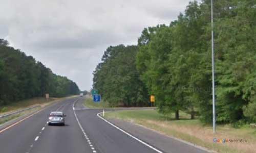 al i59 rest area southbound mile marker 167.7