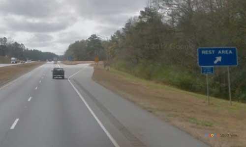 al i65 rest area southbound mile marker 133.2