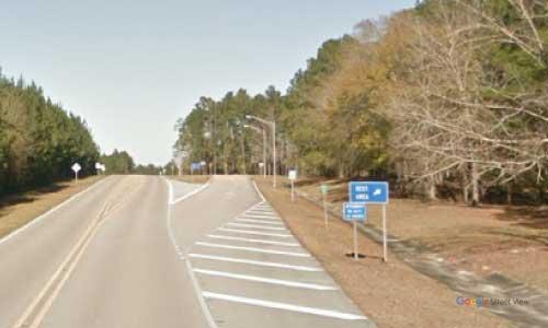 al us331 rest area northbound mile marker 8.1
